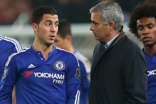 Hazard nhắn tin xin lỗi Mourinho