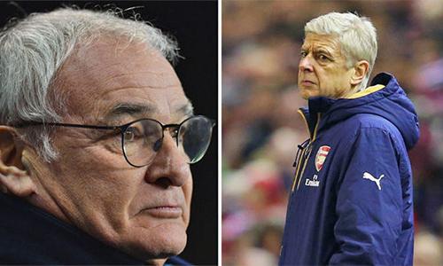 Ranieri : 'Arsenal chi nhiều tiền nên sẽ chịu áp lực'