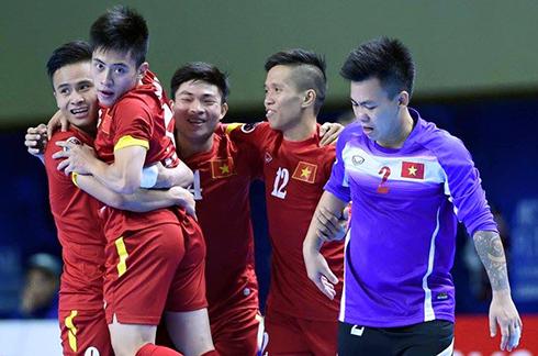 Việt Nam thua Thái Lan ở phút chót tại giải futsal châu Á