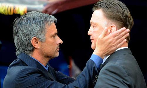 Mourinho có thể thay Van Gaal trước đại chiến Man Utd - Arsenal