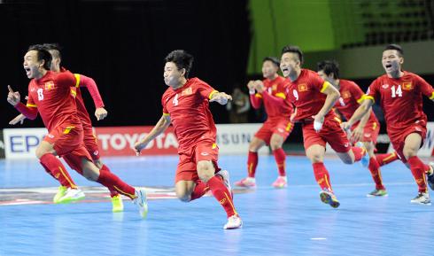 Cầu thủ futsal Việt Nam: 'Ngỡ như mơ khi đoạt vé dự World Cup'