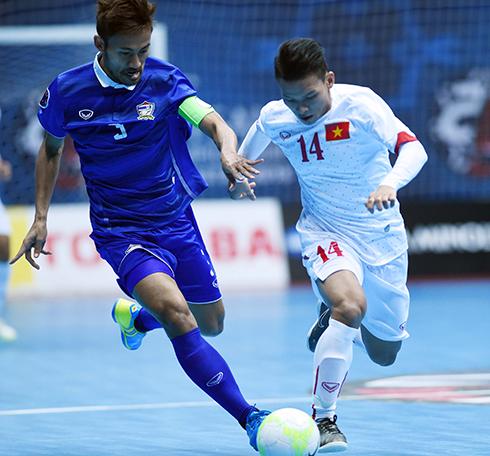 Futsal Thái Lan vs Futsal Việt Nam