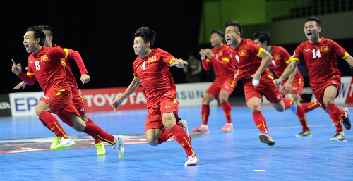 Việt Nam nhận nhiều bàn thua nhất tại giải futsal châu Á 2016