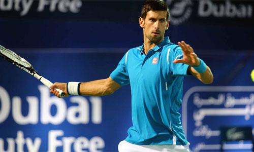 Djokovic thắng trận thứ 699 tại Dubai