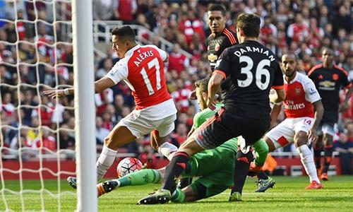 Arsenal lần đầu ở cửa trên Man Utd khi quyết đấu tại Old Trafford