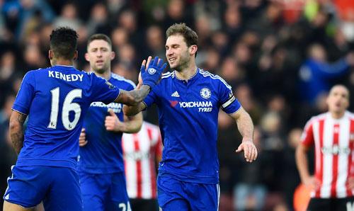 Chelsea thắng ngược Southampton vào phút cuối