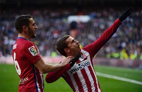 Atletico hạ đo ván Real Madrid tại sân Bernabeu