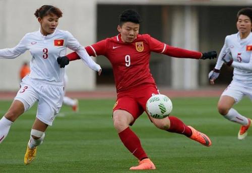 Tuyển nữ Việt Nam thua trận ra quân vòng loại Olympic 2016
