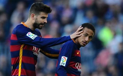 Pique chịu mất một tay để cá Neymar không tới Real