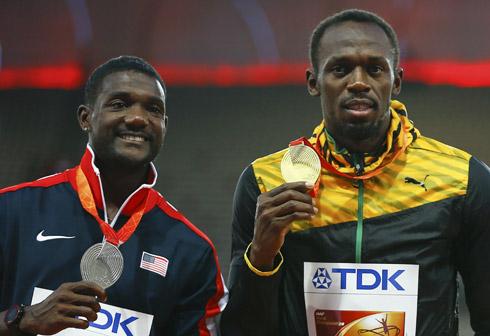 Justin Gatlin 'phá kỷ lục' của Usain Bolt nhờ quạt máy