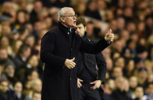 Ranieri: 'Tottenham mới là ứng viên vô địch'