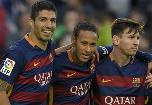 Suarez mơ có chân trái của Messi và tốc độ của Neymar