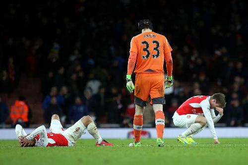 Wenger: 'Không còn bụng dạ nhắc đến chức vô địch'