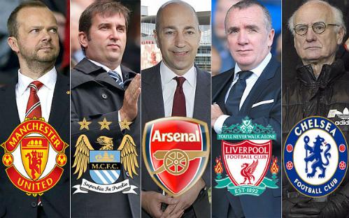 'Ngũ đại gia' Anh họp kín về giải Super League châu Âu
