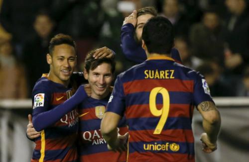 Barca phá kỷ lục bất bại trong lịch sử Tây Ban Nha