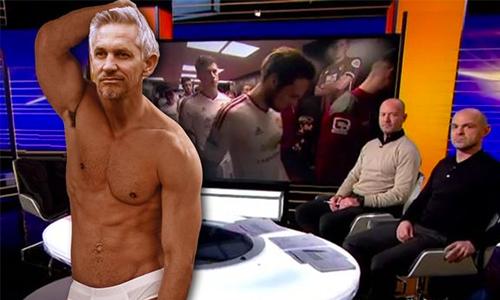 Gary Lineker sẽ bán khỏa thân trên TV nếu Leicester vô địch
