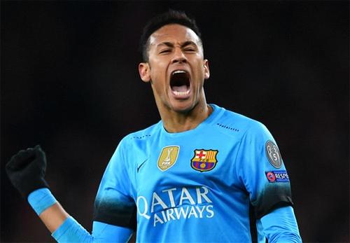 Neymar san bằng kỳ tích của Ronaldinho