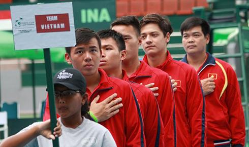 Hoàng Nam giúp tuyển Việt Nam hòa Indonesia ở Davis Cup