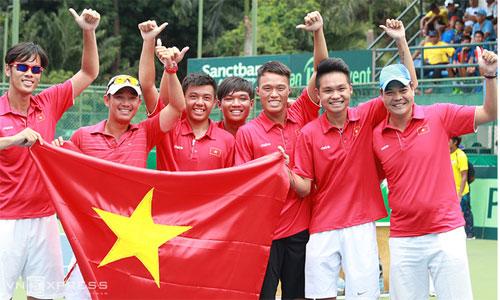 Việt Nam đụng Thái Lan ở vòng hai Davis Cup