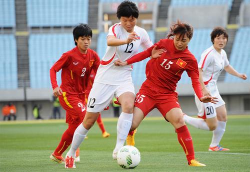 Nữ Việt Nam kết thúc vòng loại Olympic bằng trận thua thứ năm