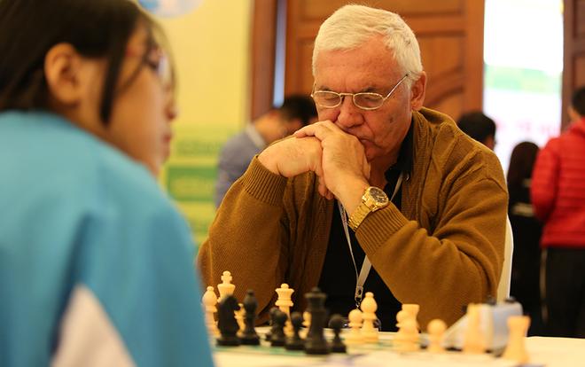 Lứa măng non của Việt Nam ở giải cờ vua quốc tế 2016 - ảnh thể thao