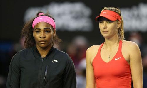 Serena Williams cảm phục lòng dũng cảm của Sharapova