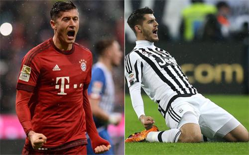 Lewandowski, Morata từ chối về Real nếu Ronaldo còn ở lại