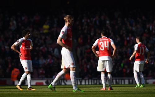 Arsenal bị loại khỏi Cup FA