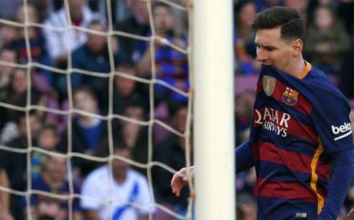 Messi và Barca cùng lập kỷ lục xấu trong trận thắng Getafe
