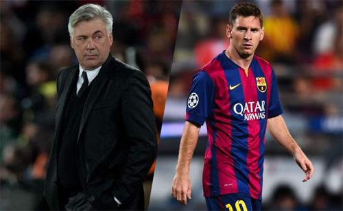 Ancelotti bày kế vô hiệu hóa Messi