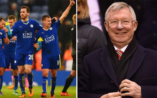 Ferguson tin Leicester sẽ vô địch trước ba vòng đấu