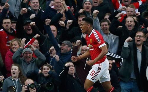 Martial níu hy vọng cho Man Utd tại Cup FA