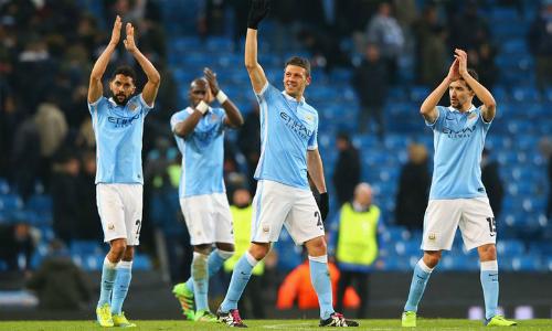 Man City lần đầu vào tứ kết Champions League