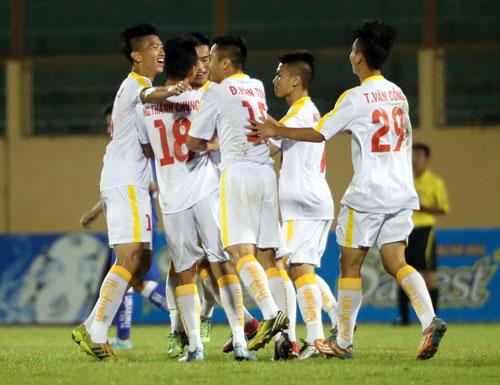 Hà Nội T&T thị uy ngày ra quân U19 quốc gia