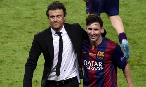 Luis Enrique: 'Đối thủ duy nhất tôi muốn tránh là Barca'