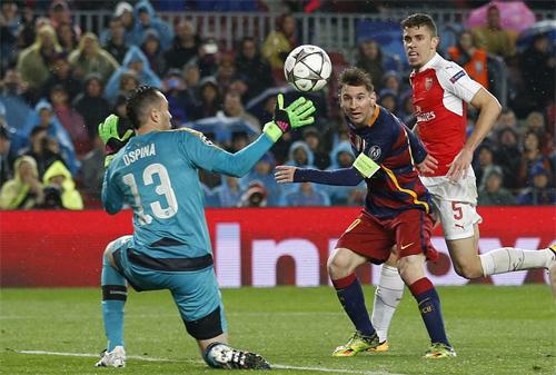 Messi lập kỷ lục ghi bàn mới tại Champions League