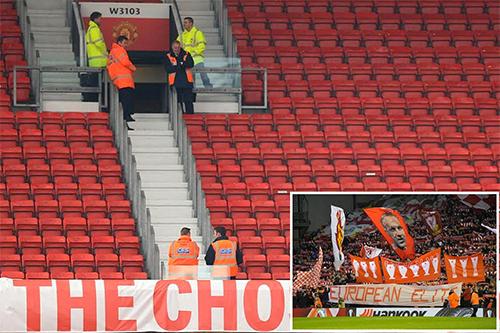 Man Utd lo ế vé vào sân Old Trafford khi tiếp Liverpool