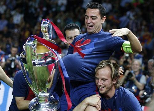Xavi: 'Barca có thể giành cú ăn ba lần thứ hai liên tiếp'