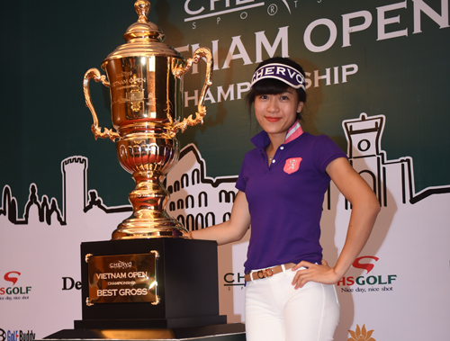 Bảy golf thủ Việt Nam dự giải Chervo toàn cầu tại Italy