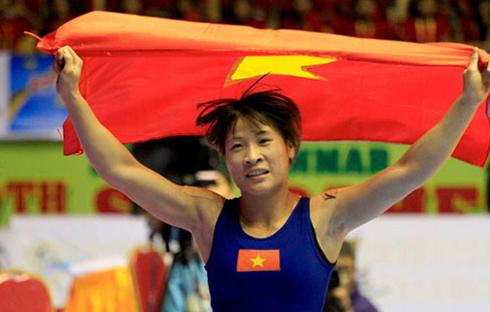 Đô vật Nguyễn Thị Lụa giành vé dự Olympic