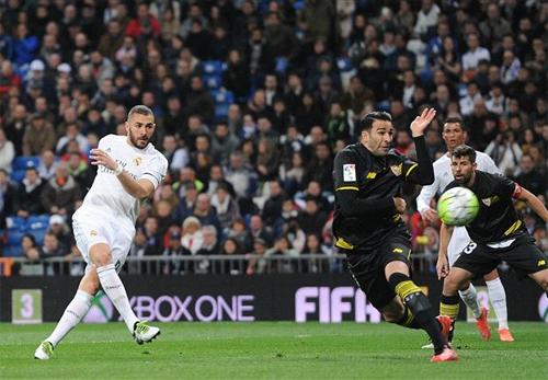 Bộ ba BBC cùng tỏa sáng, Real đại thắng Sevilla