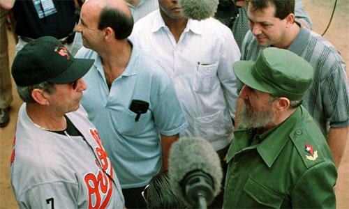 Barack Obama và thời khắc lịch sử của bóng chày Cuba