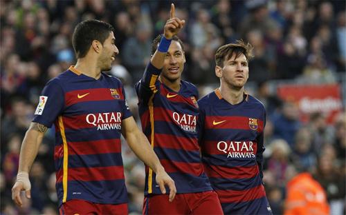 Suarez thân nhất với Messi tại Barca
