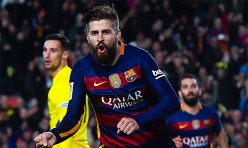 Pique bị phạt vì đi muộn nhiều nhất tại Barca