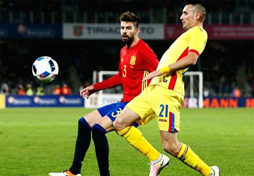 Tây Ban Nha hoà trận thứ hai liên tiếp