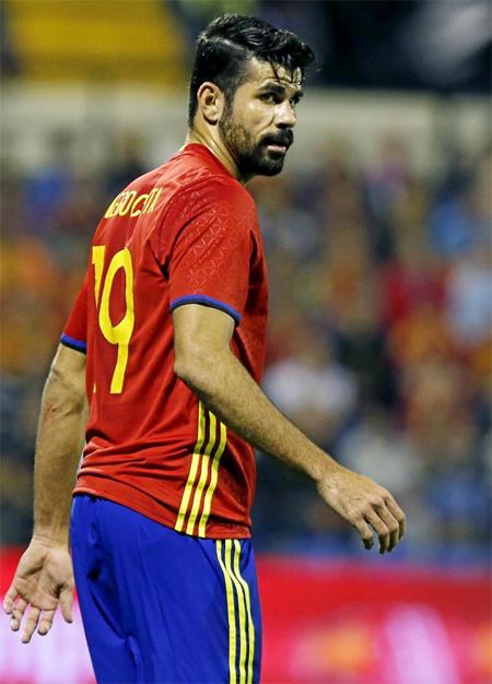 CĐV Tây Ban Nha đòi loại Diego Costa khỏi Euro 2016