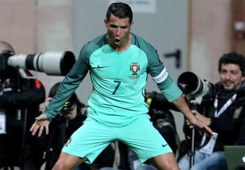 Ronaldo tỏa sáng, Bồ Đào Nha đánh bại đội tuyển số một FIFA