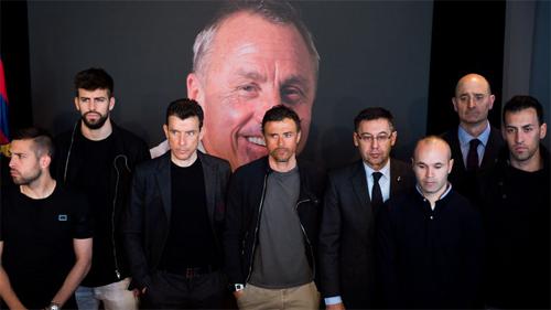 Iniesta muốn Barca thắng Real để tri ân Cruyff