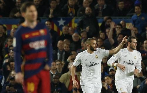 Vì sao hàng công Barca lu mờ so với ba tiền đạo Real ở El Clasico