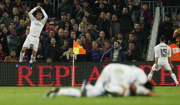 Ronaldo ghi bàn quyết định, Real ngược dòng hạ Barca